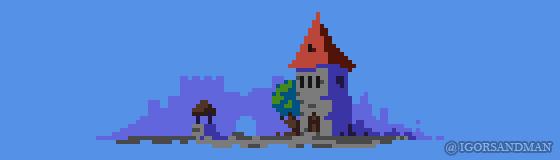 235/365 pixel art : Tower by igorsandman