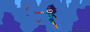 262/365 pixel art : Dive by igorsandman