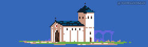 268/365 pixel art : Church
