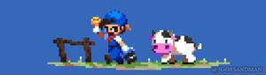 272/365 pixel art : Harvest Moon