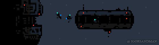 347/365 pixel art : Space Station