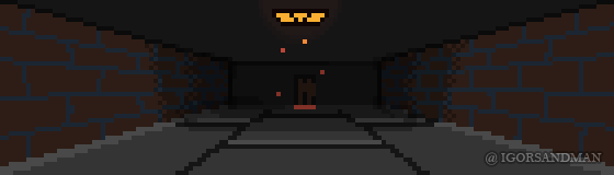 351/365 pixel art : Basement. by igorsandman