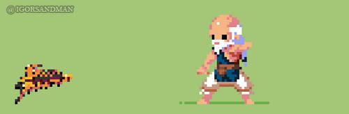 Young Gouken from Street Fighter by igorsandman