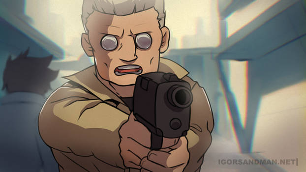 Batou - Ghost in the Shell
