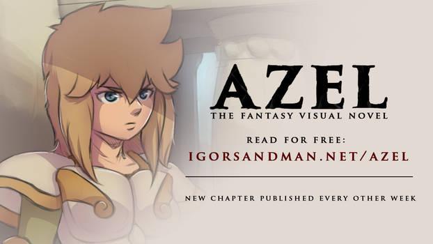 AZEL a fantasy visual novel