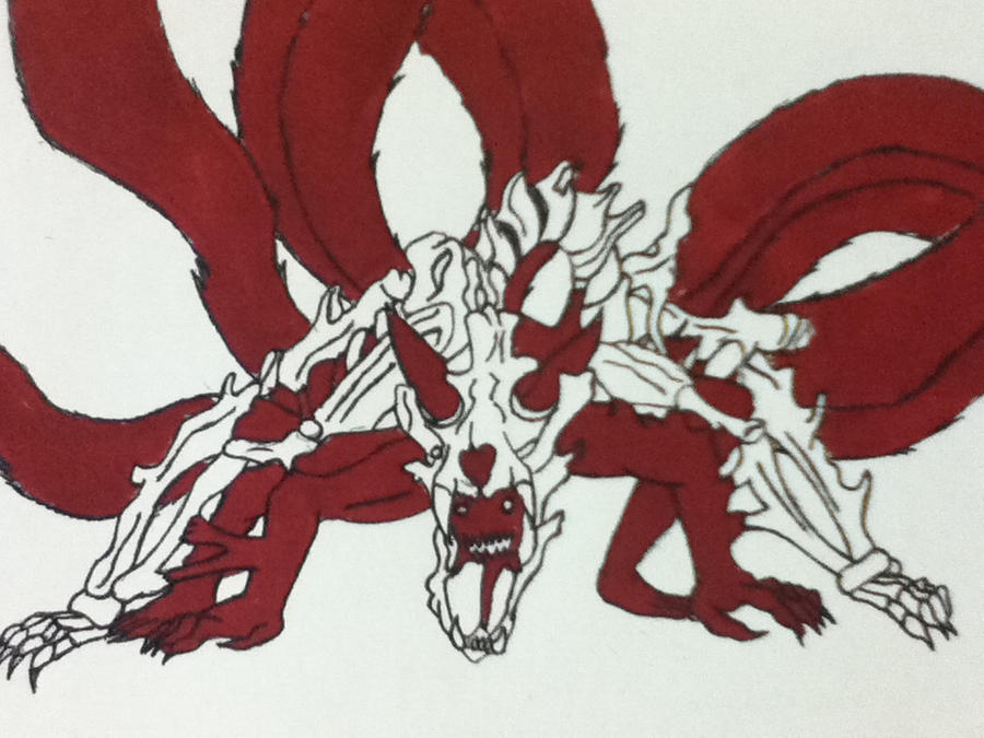 Naruto six tail beast by DX-101 on DeviantArt