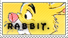 Rabbit Stamp by NaruButt