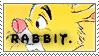 Rabbit Stamp by NaruButt