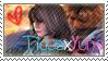 TidusxYuna Stamp. by NaruButt