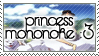 Princess Mononoke Stamp by NaruButt