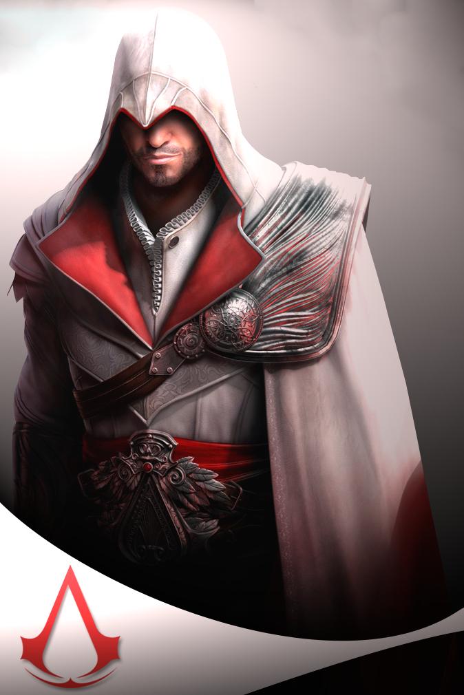 Ezio Auditore by raikouto