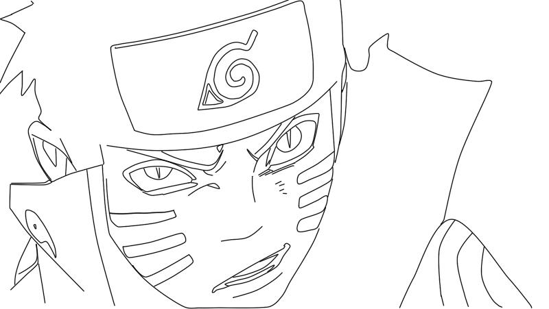 Naruto Shippuden Lineart : Naruto shippuden lineart from manga by tino
