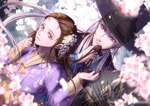[Mystic Messenger] Spring lovers by Solchan