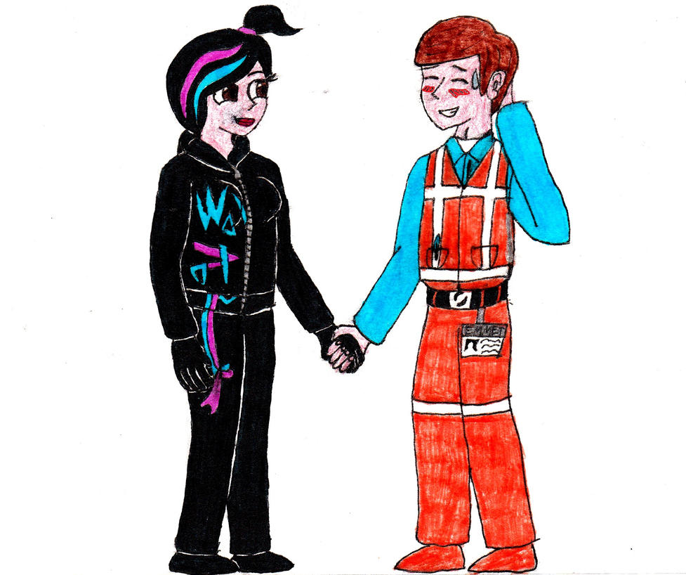 Emmet And Wyldstyle By Drakana666