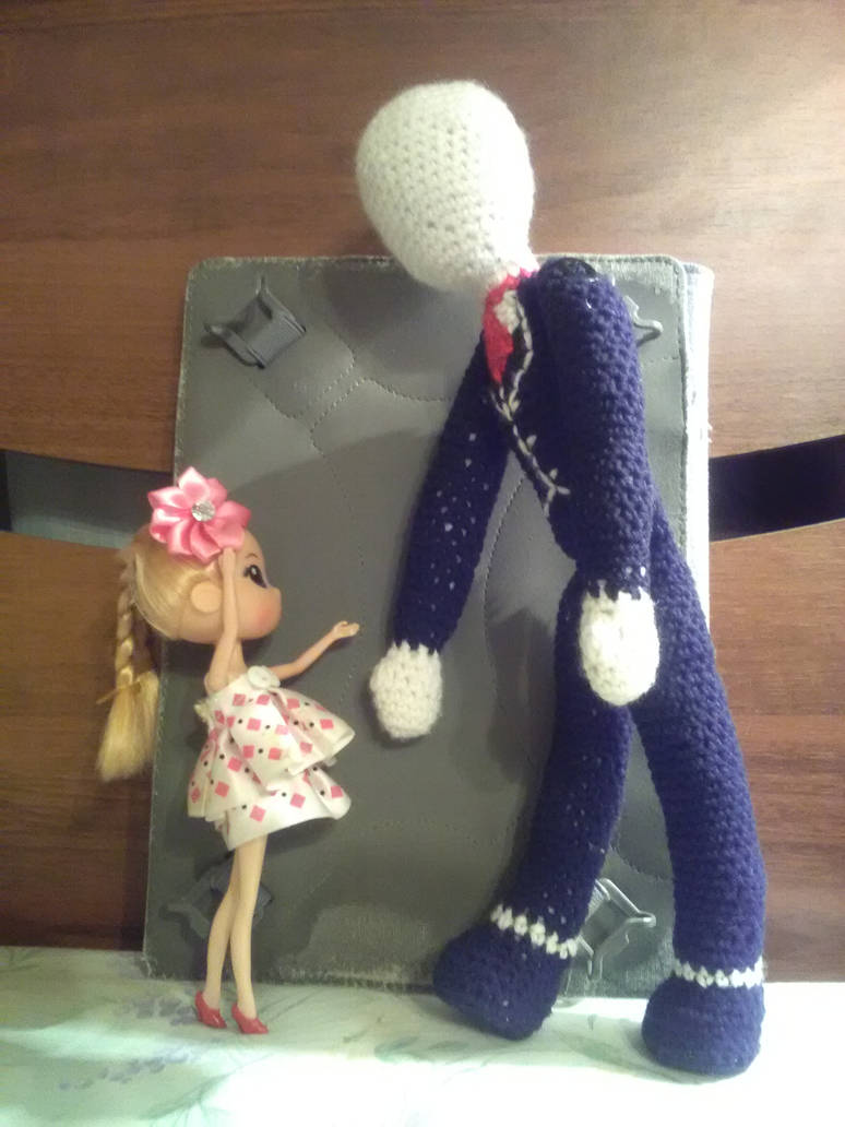e915ec5d543 Crochet Slenderman by Drakana666 on DeviantArt