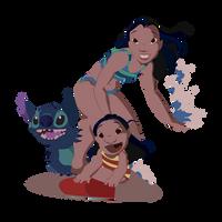 Hawaiian roller coaster ride by Mona-Minette