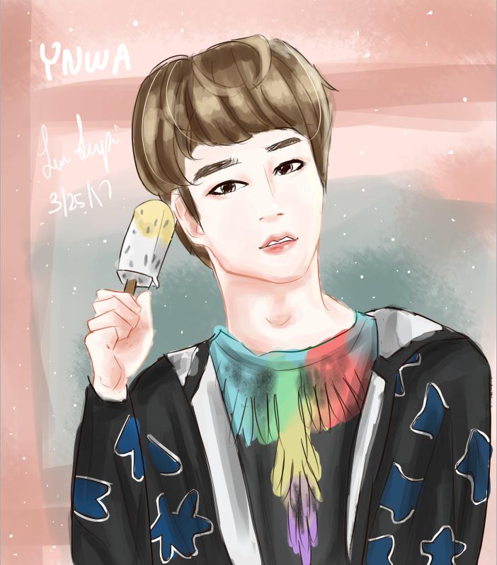 Seokjin- YNWA by Jen-senpai