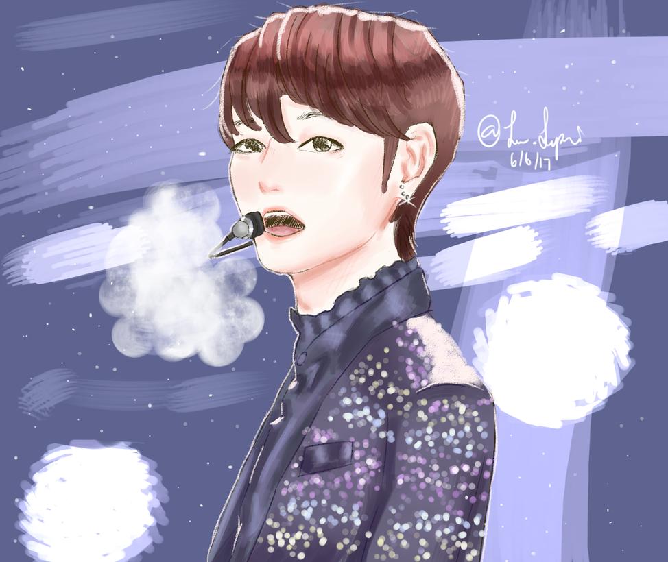 Tae- Snowflakes by Jen-senpai