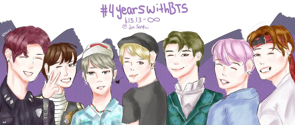 Happy 4 years!! by Jen-senpai