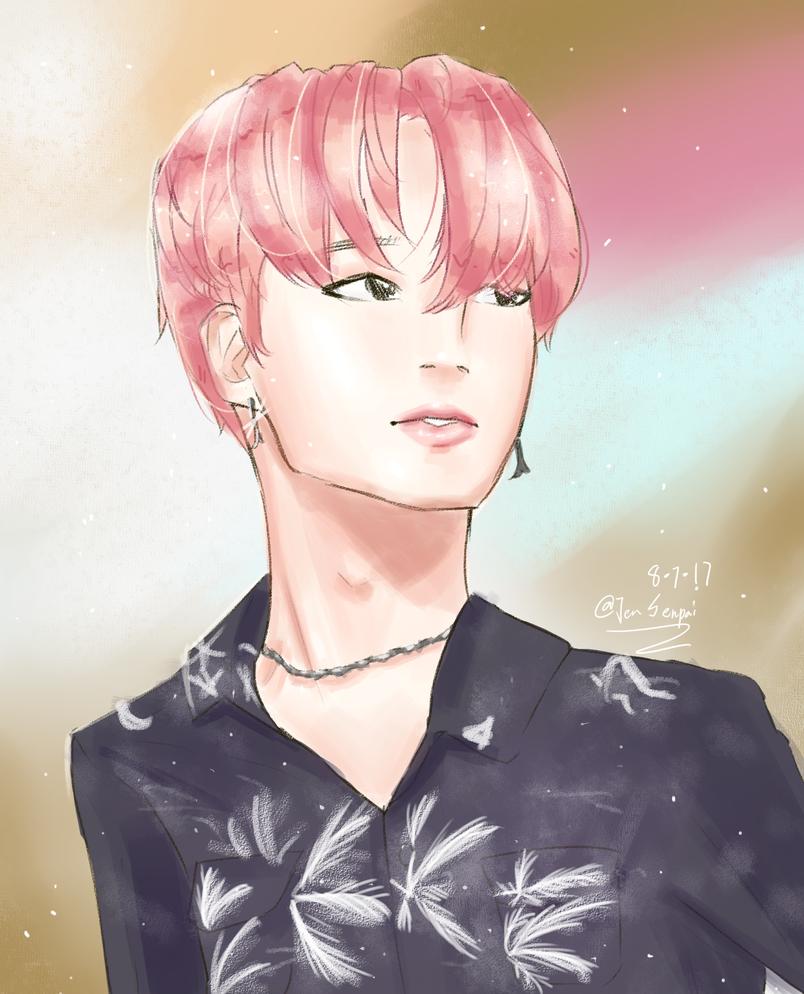 Pink Jimin by Jen-senpai