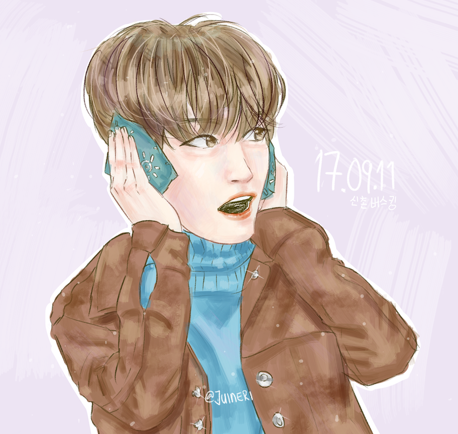 Stay Warm- Wonpil by Jen-senpai
