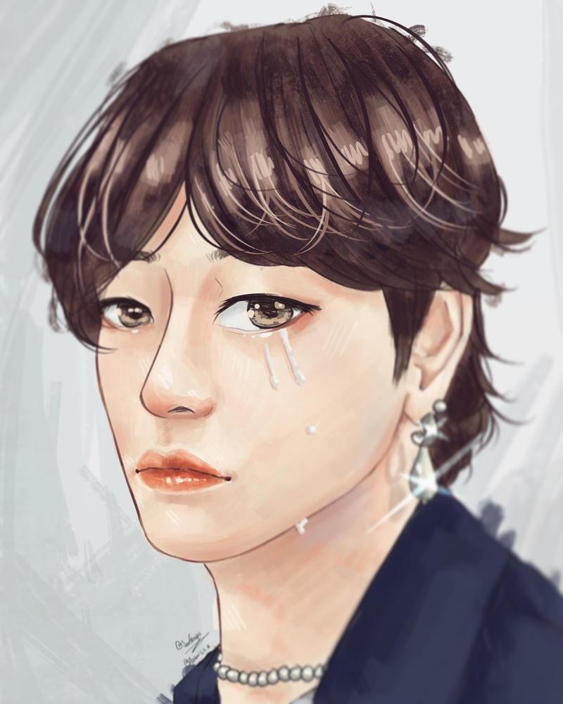The Boy with a Pearl Earring by Jen-senpai