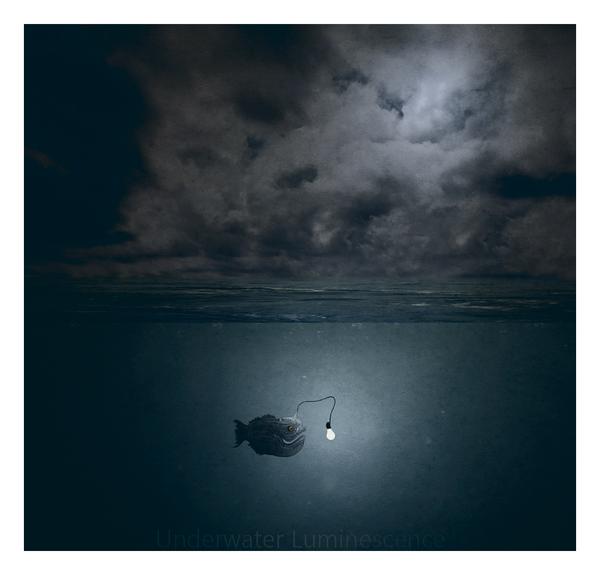 Underwater luminescence by Klauzero