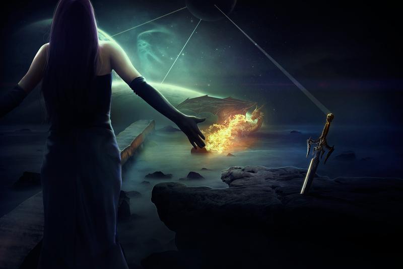 The Last Dragon (Collaboration With Rafaelll90) by Klauzero
