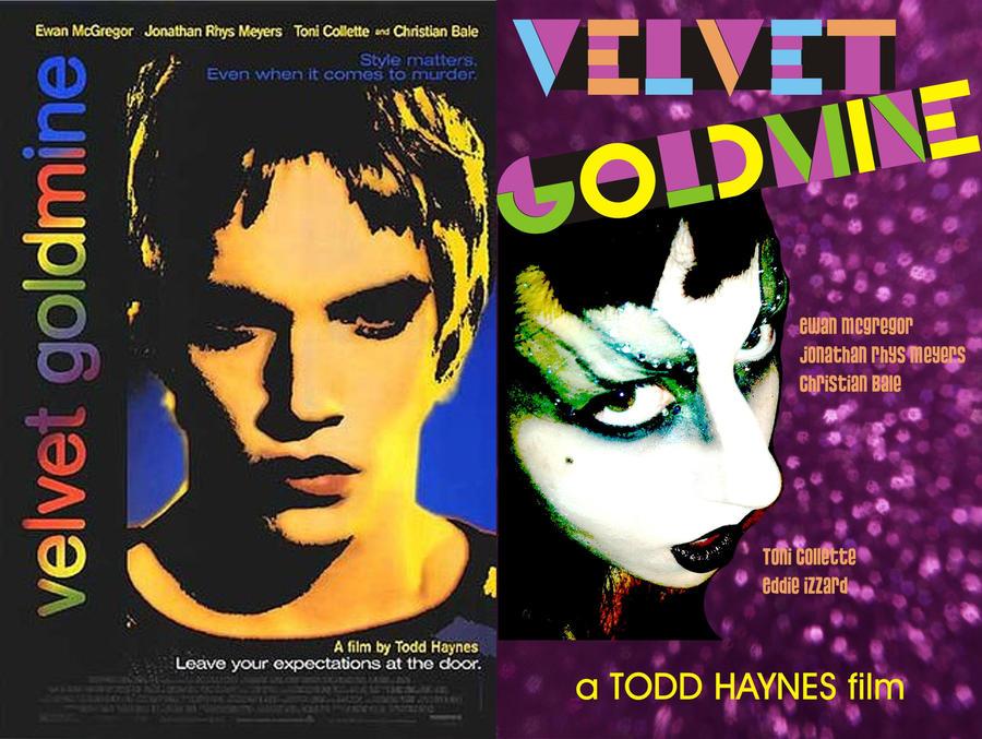Movie Cinema Poster Art Print VELVET GOLDMINE 1998 Todd Haynes