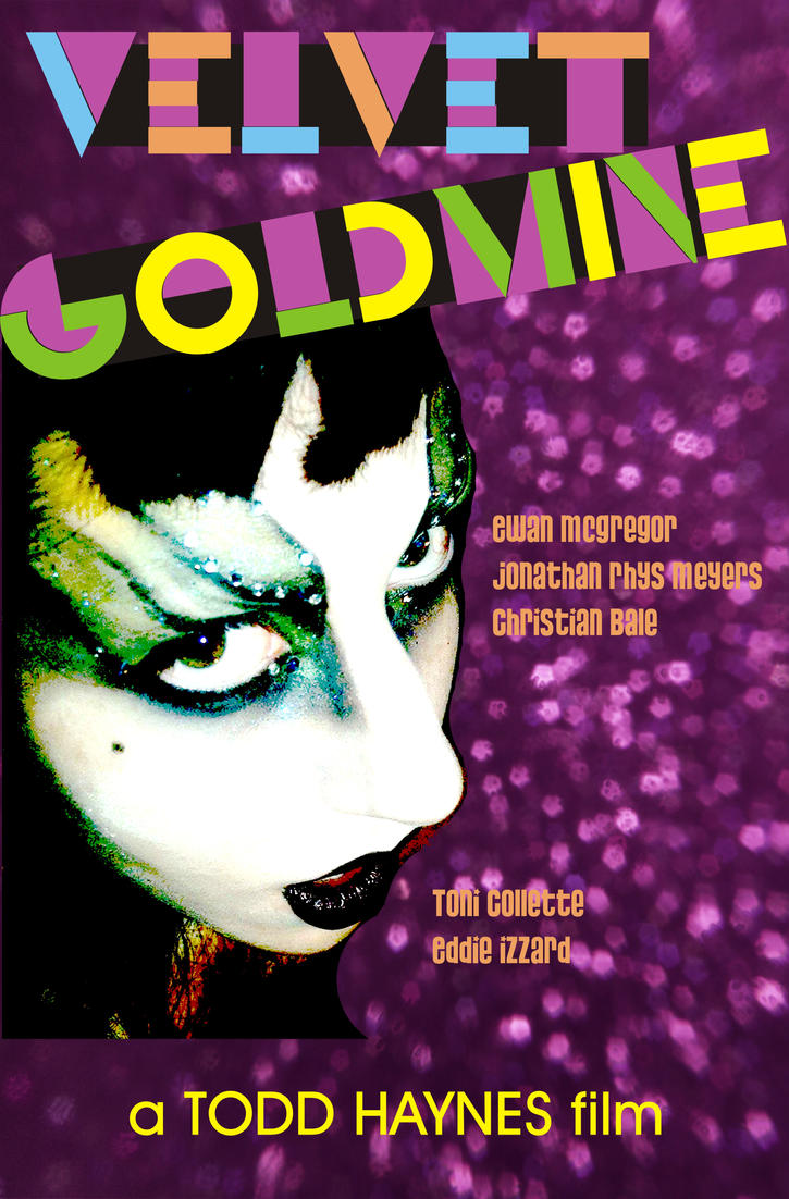 velvet goldmine glam or sham To me, the key scene in todd haynes' experimental musical velvet goldmine—not the thesis, necessarily, but the reason why it was made—takes place in the early '70s, just as the glam-rock movement is starting to find its legs.