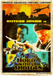 Hobo With A Shotgun by Boger