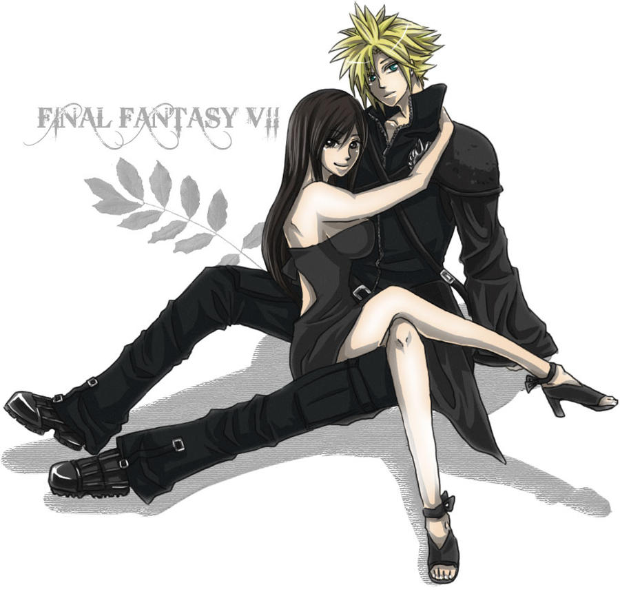 ff7 cloud and sephiroth relationship