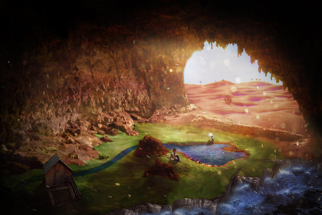 Forgotten cave by Neuge