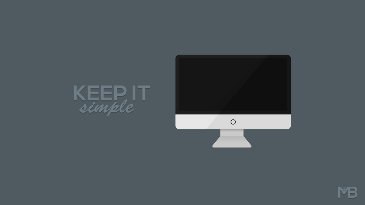 Keep it simple minimalist wallpaper by martinberthelsen for Going minimalist