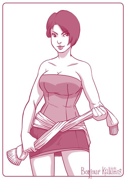 Jill Valentine - Resident Evil by Kalumis