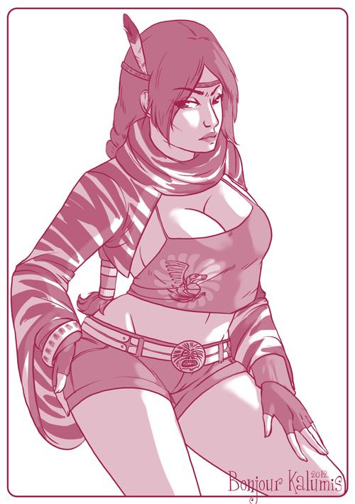 Michelle Chang - Tekken by Kalumis