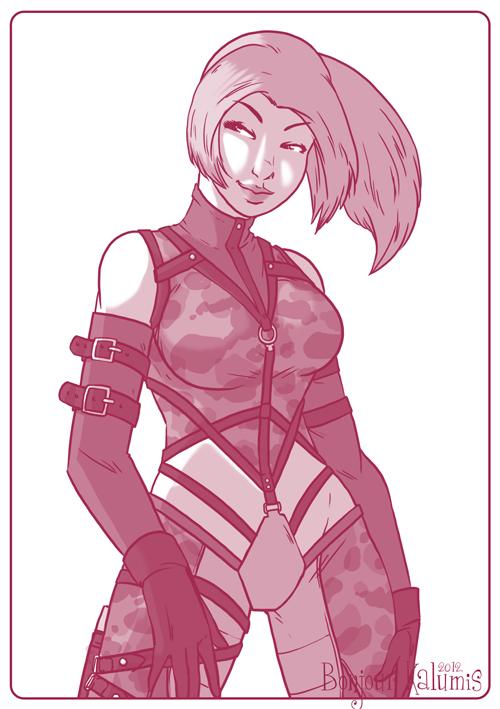 Nina Williams - Tekken by Kalumis