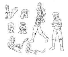 VOP! Characters
