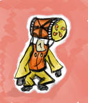 Yellow Imp Okami Sketch