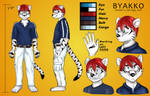 Byakko Reference Sheet (Commission)