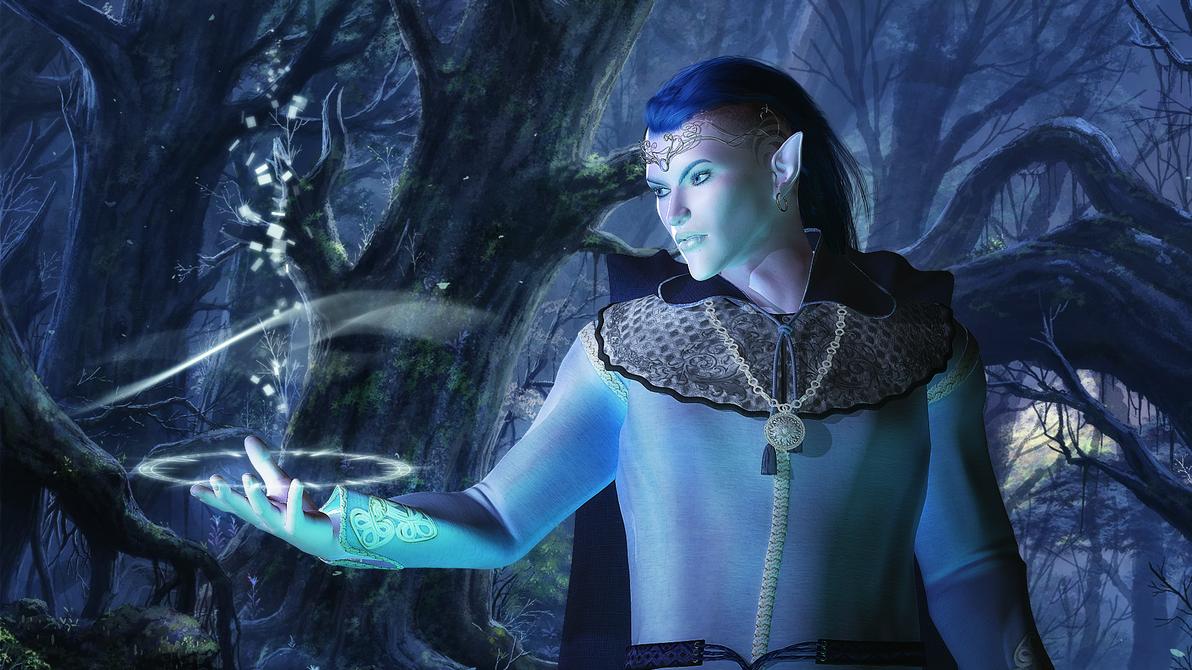 Blue skinned elves exploited streaming