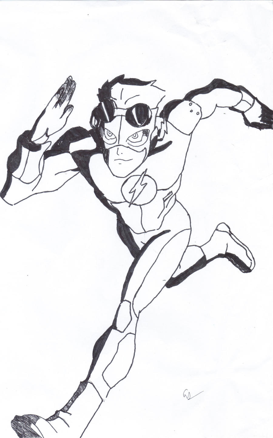 kid flash by endeverafter22 on deviantart