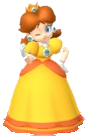 Daisy Mario Party 10 - Cheer by Michael-lol