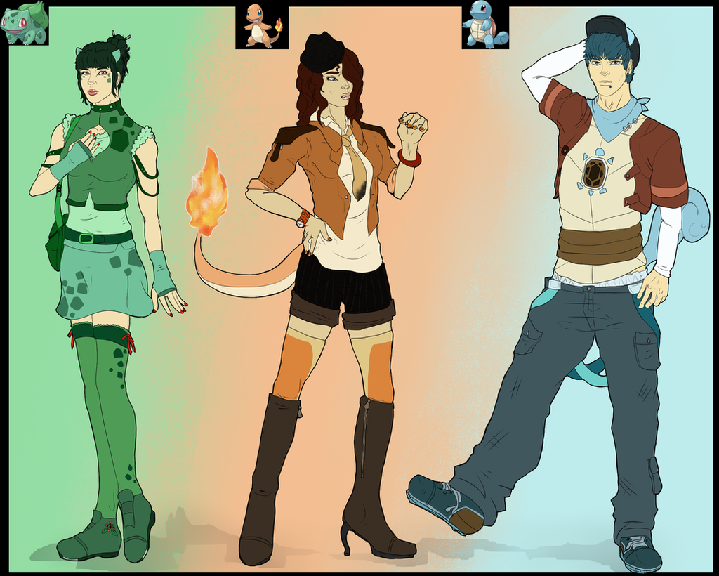 Poke Gijinka Adoptables -OPEN- by Effects-of-Crimson