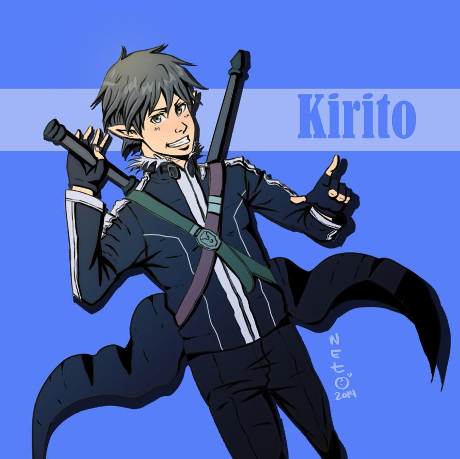 Kirito by lionheartslayerX