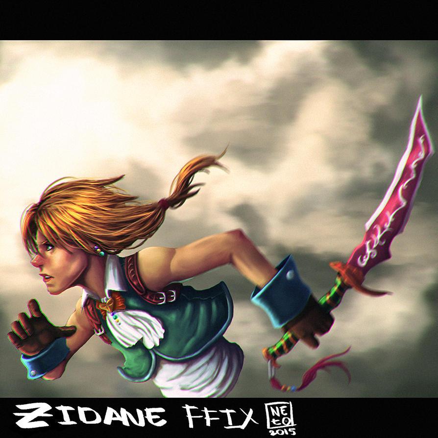 Zidane by lionheartslayerX