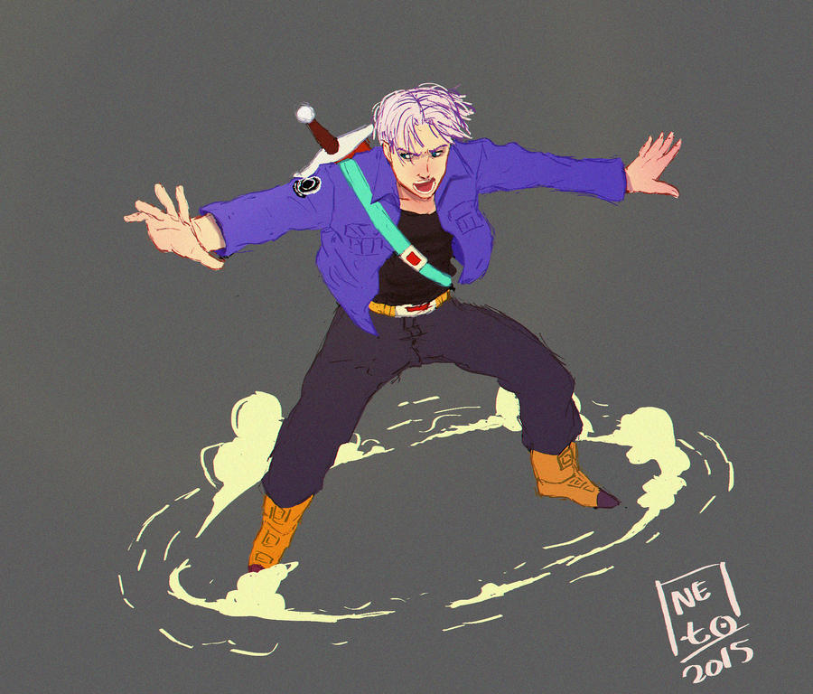 Future Trunks by lionheartslayerX