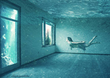 Underwater apartment by Impossiblee