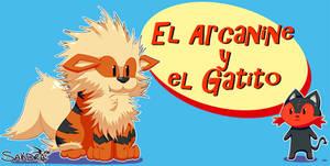 El Arcanine y el Gatito