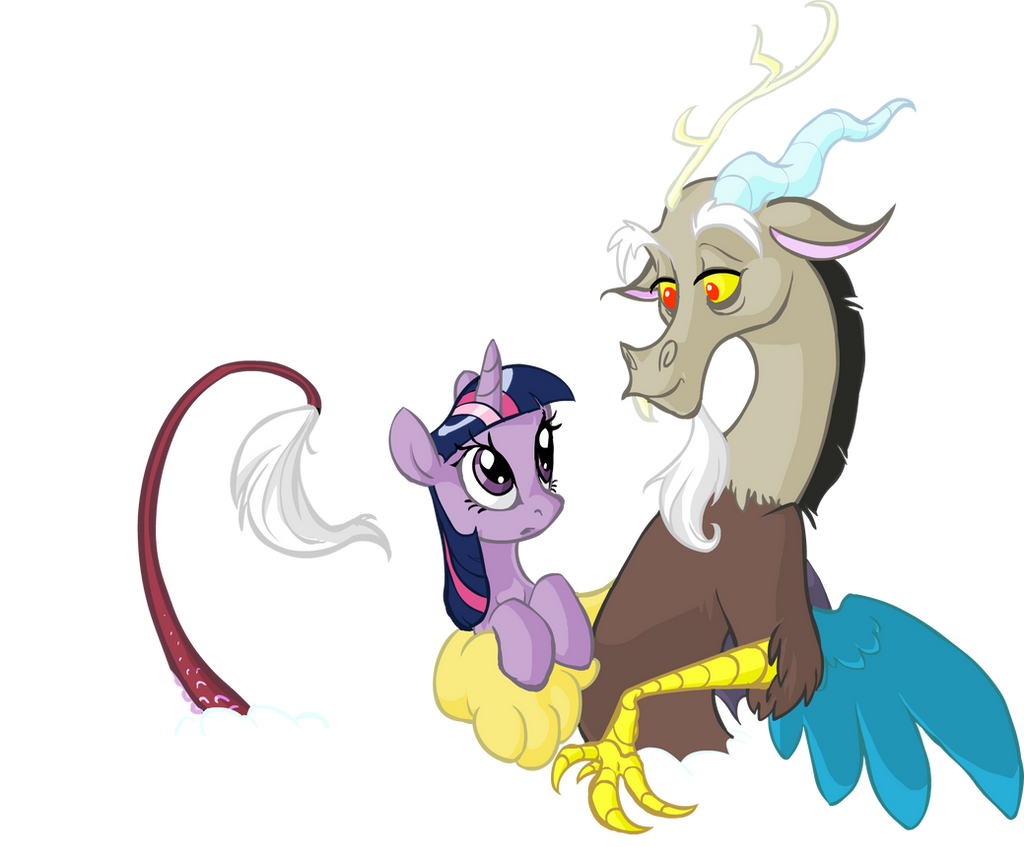 Twilight Sparkle And Discord In Love Yay for DiscoLight by ...